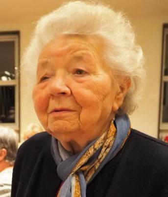Foto zur Meldung: Helga Schellhorn 1926 - 2019