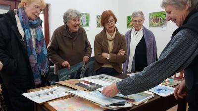 """Vorschaubild zur Meldung: """"Frauen malen: 8 Frauen – 8 Jahre"""""""