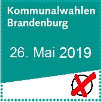 Vorschaubild zur Meldung: Europa- und Kommunalwahl 26. Mai 2019