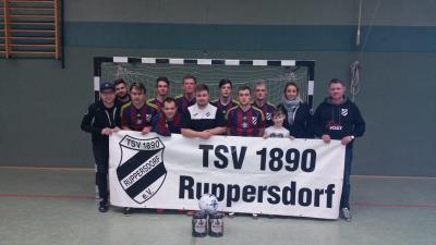 Foto zur Meldung: Männer gewinnen gut besetztes 8er-Turnier der ISG Hagenwerder