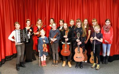 Vorschaubild zur Meldung: Nur erste Preise für Regionalmusikschüler
