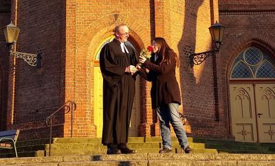Foto zur Meldung: Valentinstag: Gottesdienst für Verliebte am 14.02.2019 in Niemegk
