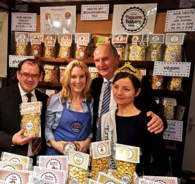 Foto zur Meldung: Falkenseer Popcorn Bakery auf der Grünen Woche 2019