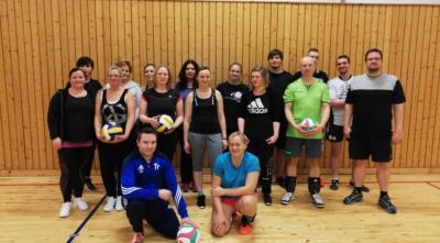 Foto zur Meldung: Volleyball Sektion im Borkheider SV 90 gegründet