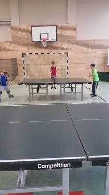 Foto zur Meldung: Tischtennisturnier im Januar