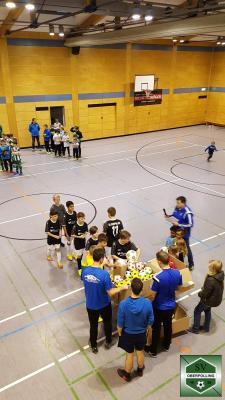 Bild der Meldung: D-Jugend erzielt Platz 3 beim Sport Michetschläger Hallencup 2019