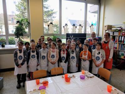 Vorschaubild zur Meldung: Die Milchentdecker-Kochtour des Landwirtschaftsministeriums NRW macht Station an der Nordschule!