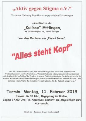 Filmabend Kulisse Ettlingen 11.02.2019