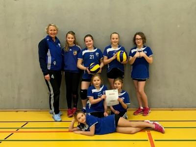 Foto zur Meldung: Elsdorfs U12-Mädchen Bezirksmeister Bremen/Lüneburg!