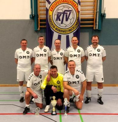 Vorschaubild zur Meldung: FC Schönberg 95 wurde Ü50-Meister