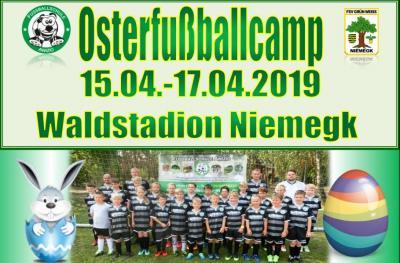 Foto zur Meldung: Osterfußballcamp 2019