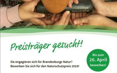Vorschaubild zur Meldung: Brandenburger Naturschutzpreis: Preisträger gesucht!