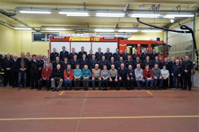 Foto zu Meldung: Jahreshauptversammlung Feuerwehr Neukalen 2019