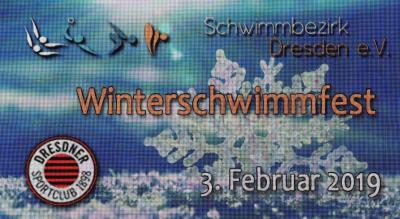 Foto zur Meldung: Winterschwimmfest des Schwimmbezirkes in Dresden