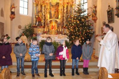 Foto zur Meldung: 13 Kinder der Pfarreiengemeinschaft bereiten sich auf die Hl. Erstkommunion vor