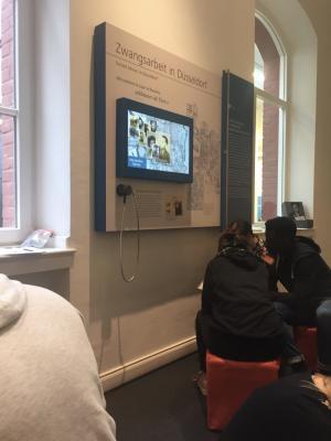 Vorschaubild zur Meldung: Projektauftakt in der Mahn- und Gedenkstätte: Am 24. Januar startete der Workshop mit den Schülerinnen und Schülern der TAS