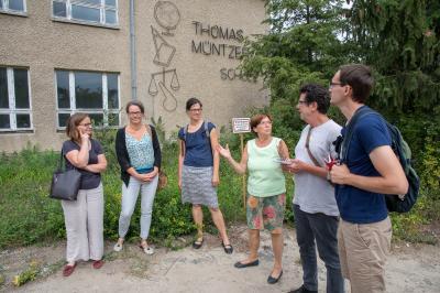 Foto zur Meldung: Dialog-Tour Ländliche Räume: Zwischen Heimat und Hype – #GruenVorOrt mit Benjamin Raschke