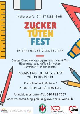 Foto zur Meldung: Zucker-Tüten-Fest 2019!