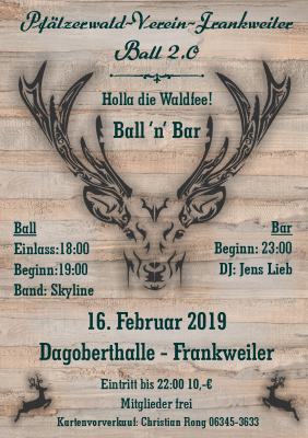 Foto zur Meldung: Ball 'n' Bar - Vereinsball in der Dagoberthalle in Frankweiler