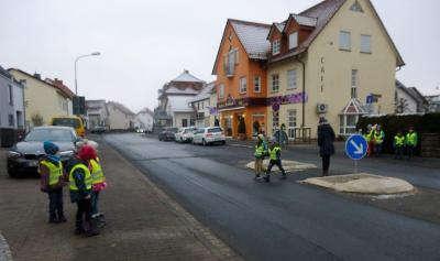 """Vorschaubild zur Meldung: Kindertagesstätte St. Josef - Projekttag """"Sicher im Straßenverkehr"""""""