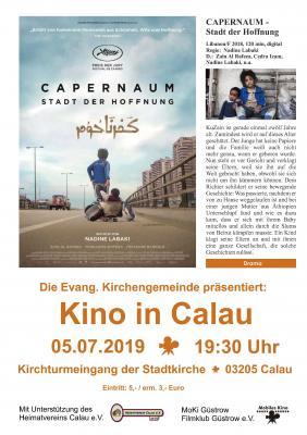 """Foto zur Meldung: Kino in Calau: """"Capernaum - Stadt der Hoffnung"""""""