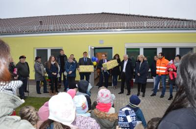Foto zur Meldung: Kita Sonnenschein II eingeweiht – Wir kümmern uns drum!