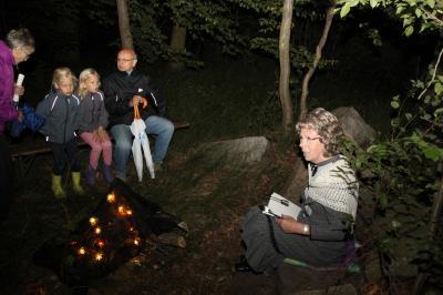 Foto zur Meldung: TFZ Pressemitteilung:Glühwürmchennacht in Cammer