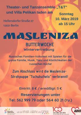 """Foto zur Meldung: Am 10. März: russisches Butterfest """"Masleniza"""" in der Villa!"""