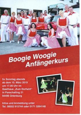 Foto zur Meldung: Boogie Woogie Anfängerkurs