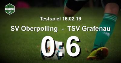 Bild der Meldung: 0:6 im zweiten Testspiel nach der Winterpause gegen Grafenauer Stodbärn