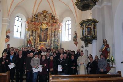 Foto zur Meldung: Ein ganz besonders festlicher Gottesdienst für Ehejubilare