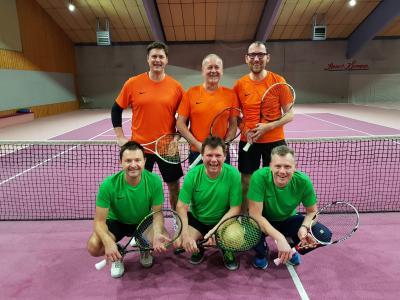 Foto zur Meldung: Tennis / Herren 40 / Gruppensieg in Staffelliga