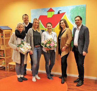 """Vorschaubild zur Meldung: Vierte Betreuungsgruppe der """"Kleinen Strolche"""" eröffnet"""