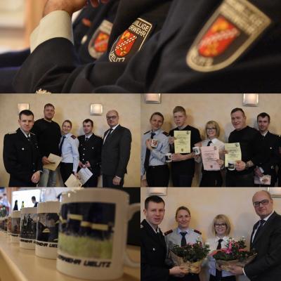 Foto zur Meldung: Jahreshauptversammlung der Freiwilligen Feuerwehr Uelitz