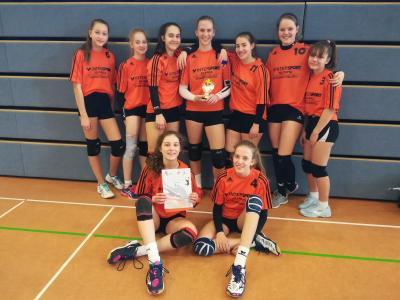 Foto zur Meldung: Regionalfinale Volleyball