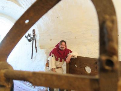 Foto zur Meldung: Lebendige Burgführung auf Burg Rabenstein