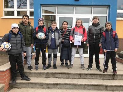 Foto zur Meldung: 4. Platz beim Fußballturnier der Prignitzer Grundschulen in Karstädt