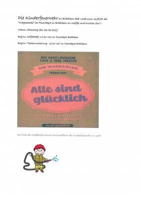 Vorschaubild zur Meldung: Kaffeetafel der Jugendfeuerwehr Brädikow