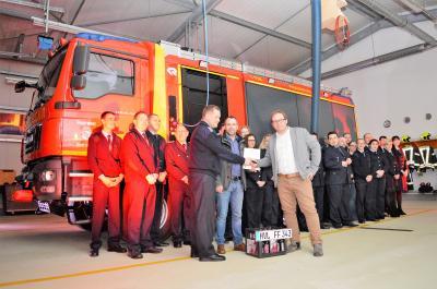 Foto zur Meldung: Einheit Börnicke ist für den Notfall besser gerüstet