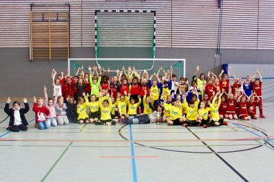 Teilnehmer GVO F Mädchen Turnier