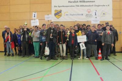 Hallenfußballqualifikation Württemberg-Süd von Special Olympics