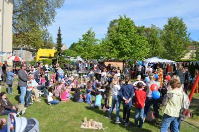 Das Hausfest im FGZ lockte im Mai 2018 viele Besucher an.