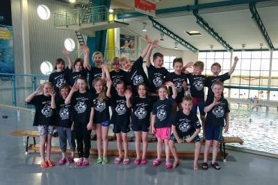 Foto zur Meldung: Schwimm-Trainingslager und Testwettkampf Jg.09/10 in Riesa