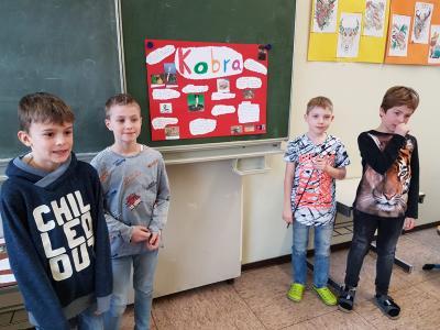 Vorschaubild zur Meldung: Tierische Woche an der Nordschule