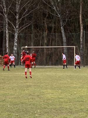 Foto zur Meldung: Fußball: Unsere Erste gewinnt sicher in Calau