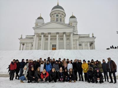 Vorschaubild zur Meldung: Erasmus+:   Kiitos Finnland!