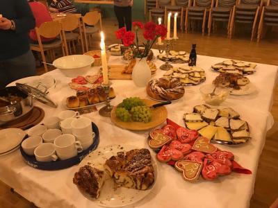 .... der Tisch ist gedeckt (Foto: privat)