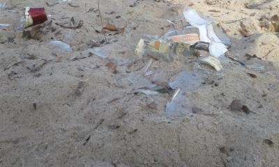 Foto zur Meldung: Vandalismus auf dem Spielplatz in Brieskow-Finkenheerd