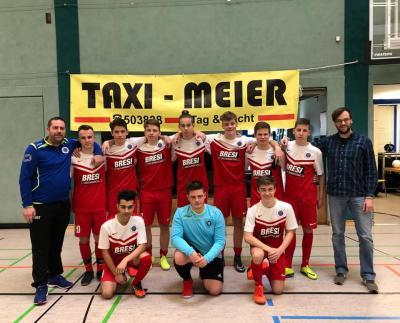 Foto zur Meldung: TAXI MEIER CUP in Rathenow