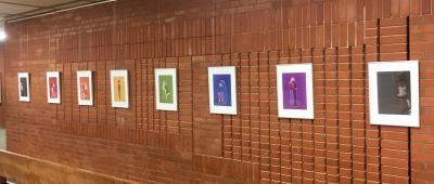 Vorschaubild zur Meldung: AG Queer eröffnet Ausstellung